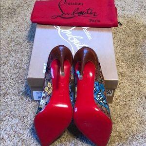 Christian Louboutin Shoes - Brand New Christian Louboutin Follies Lace heel